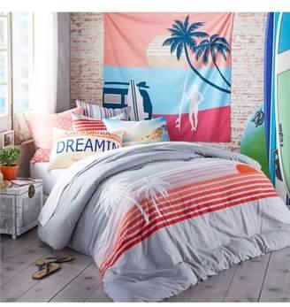 HANG TEN Sunset Stripe Duvet Cover & Sham Set