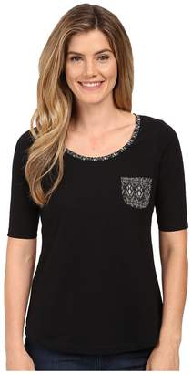 Aventura Clothing Delaney Elbow Sleeve Women's T Shirt