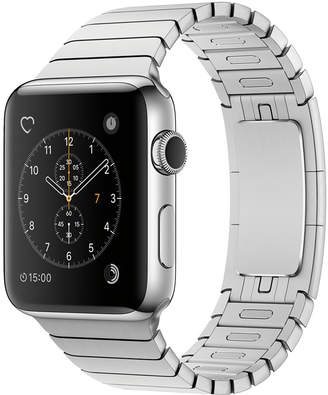Apple Watch Series 2 42mm Stainless Steel Case with Silver Link Bracelet