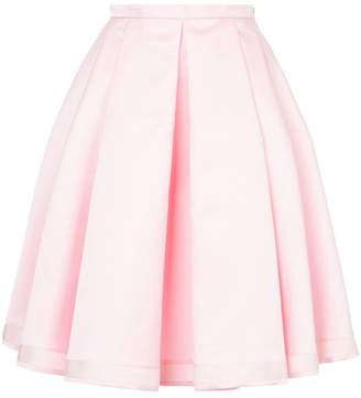 Dice Kayek pleated full skirt