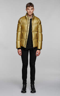 Mackage GREG-M lightweight jacket with metallic finish
