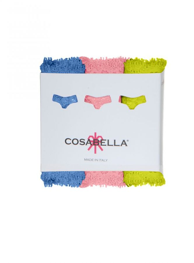 Cosabella Never Say Never Cutietm Lowrider Thong 3-Pack