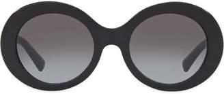 Valentino Eyewear oversized round frame sunglasses