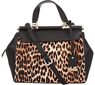 Vince Camuto Exotic Leather Satchel - Carla