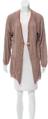 Missoni Striped Cashmere-Blend Cardigan