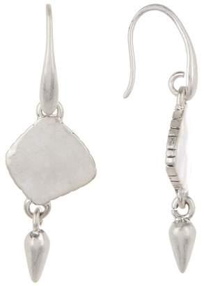 The Sak Spike Double Drop Earrings