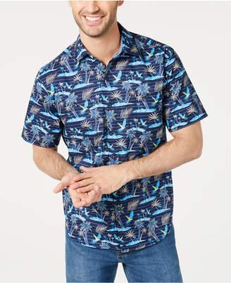 Tommy Bahama Men Big & Tall Isle Of Palms Regular-Fit Stretch Hawaiian Camp Shirt