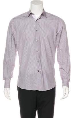 Lanvin Striped Dress Shirt