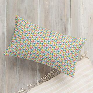 Color Angles Self-Launch Lumbar Pillows