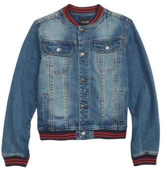Joe's Jeans Denim Baseball Jacket (Big Boys)