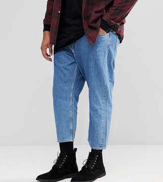 ONLY & SONS PLUS Cropped Balloon Fit Jeans