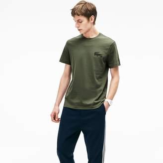 Lacoste Men's Crocodile Lettering T-Shirt