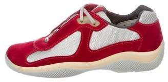 Prada Sport America's Cup Sneakers