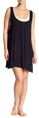 Couture Curvy Lace Underlay Sleep Tank Dress