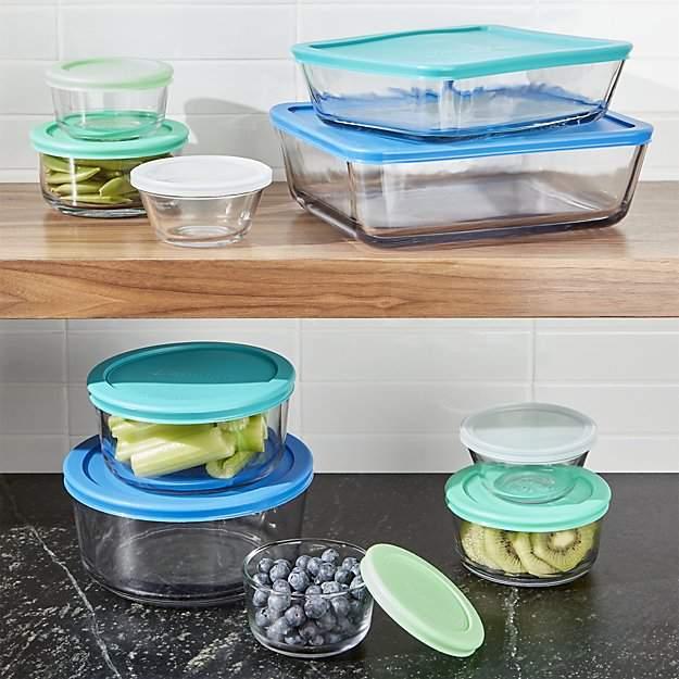 Anchor Hocking ® 20-Piece Glass Storage Set