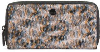 Rfid Roar Ada Leather Zip Wallet