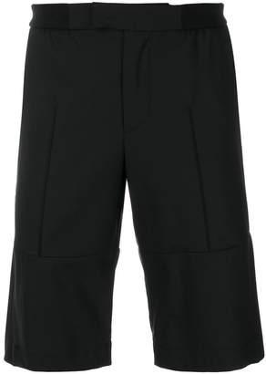 Les Hommes panelled shorts