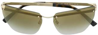 Versace Eyewear oversized tinted sunglasses