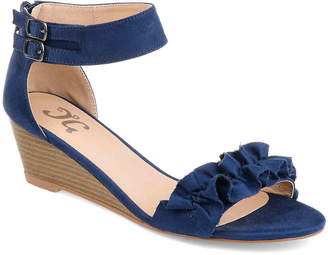 Journee Collection Aveya Wedge Sandal - Women's