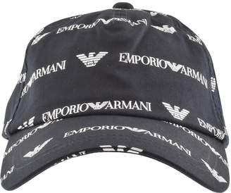 Giorgio Armani Emporio Baseball Logo Cap Navy 28a86961e926