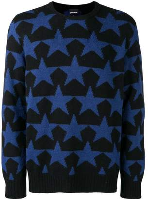 Just Cavalli star knitted jumper