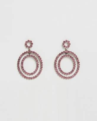 BaubleBar Jasmina Hoop Earrings