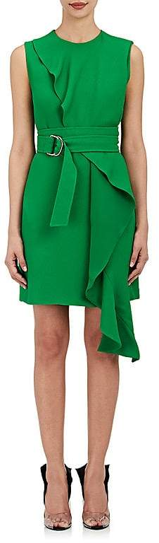 CALVIN KLEIN 205W39NYC Women's Crepe Belted Dress
