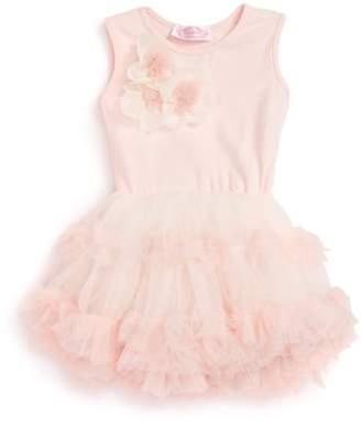 Popatu Sleeveless Floral Tutu Dress