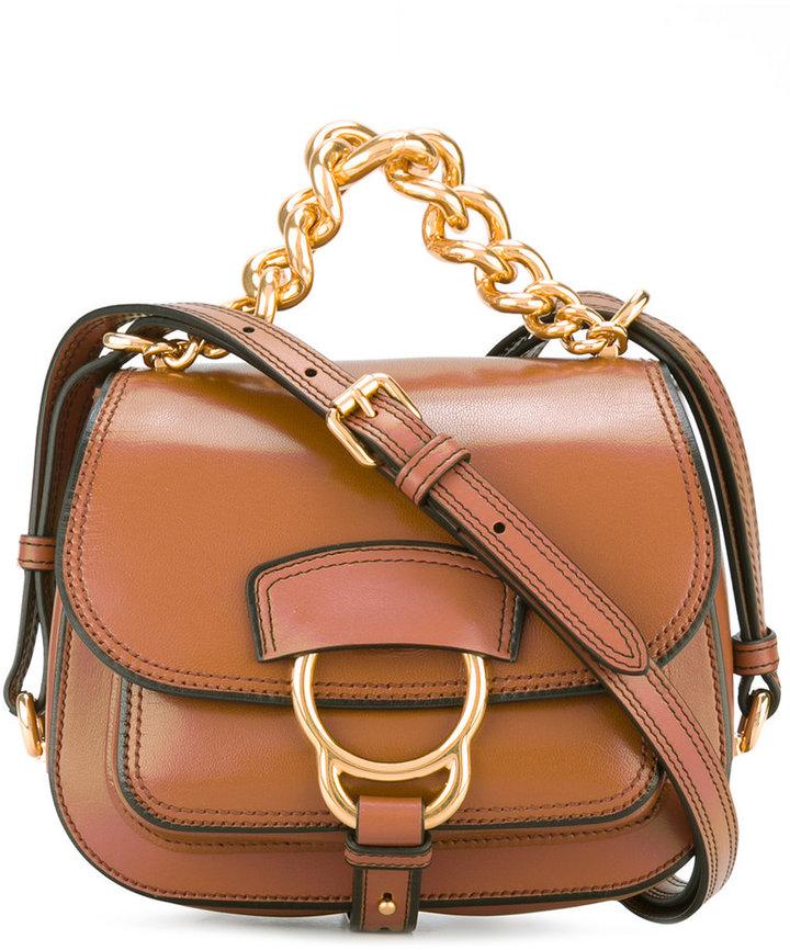 Miu MiuMiu Miu mini buckled shoulder bag