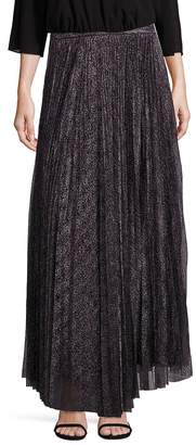 Alice + Olivia Women's Katz Pleated Maxi Skirt
