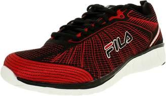 Fila Men's speedweave Run ii-m, Red/Black