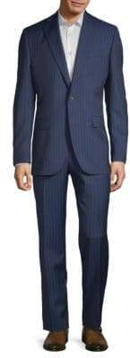 Jack Victor Esprit Striped Wool Suit