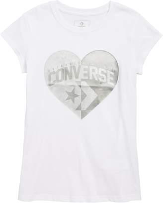 Converse Split Heart Tee