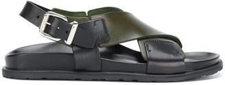 Sofie D'hoore cross strap sandals