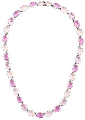 Larkspur & Hawk Caterina multi magenta foil necklace