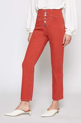Joie Laurelle High-waist Button Fly Jeans