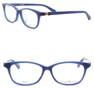 Kate Spade Carlisha 52mm Square Cat Eye Optical Frames
