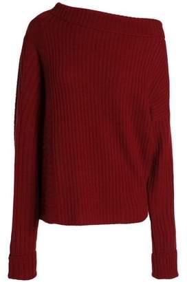 Agnona Ribbed Cashmere Sweater