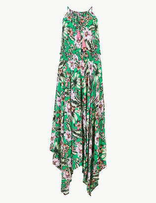 Marks and Spencer Floral Print Strappy Slip Beach Dress
