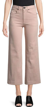 Rag & Bone Justine Wide Leg Ankle Jeans