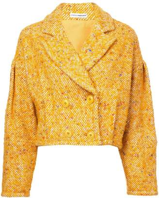 Ulla Johnson cropped fitted jacket