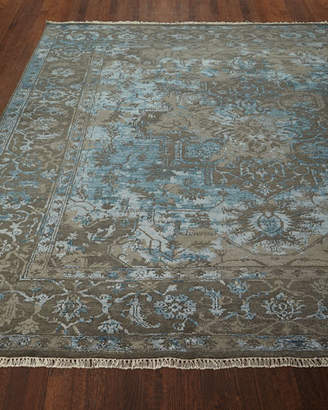 Loloi Rugs Oath Veil Hand-Knotted Rug, 4' x 6'