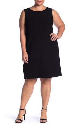Lafayette 148 New York Sleeveless Knit Dress (Plus Size)