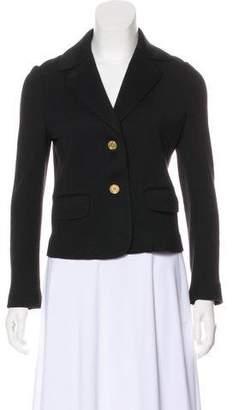 Tory Burch Wool Button Blazer