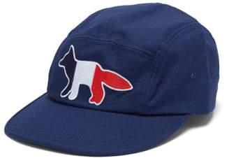 dadd7d2304cb7 MAISON KITSUNÉ Fox Cotton Blend Cap - Mens - Navy