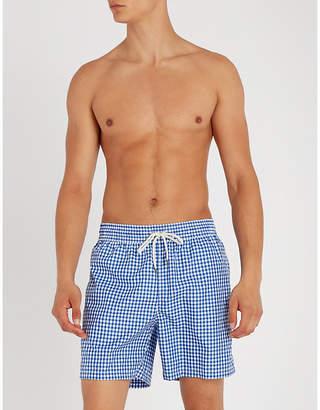 Polo Ralph Lauren Traveller gingham swim shorts