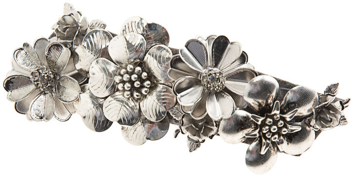 Jennifer Ouellette Metal Flower Barrette