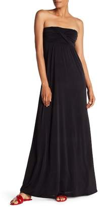 S.H.E. Strapless Maxi Dress
