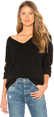 Theory Relaxed V Neck Cashmere Sweater
