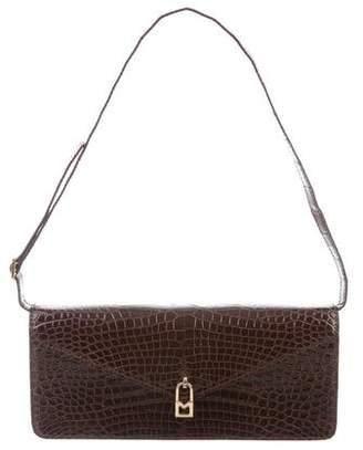 Michael Kors Glazed Crocodile Shoulder Bag